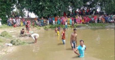 ঠাকুরগাঁওয়ের পীরগঞ্জে ঐতিহ্যবাহী হাঁস খেলা অনুষ্ঠিত